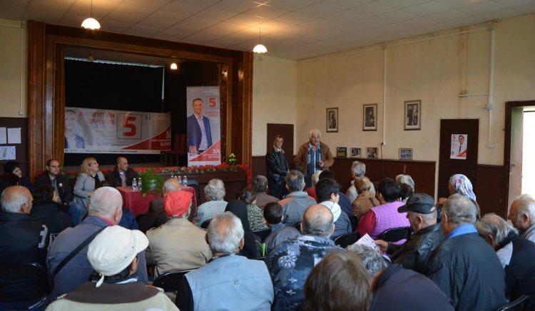 Социалната политика на Валентин Ламбев събра жителите на три села